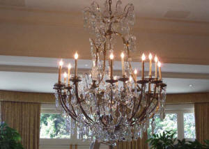 Chandelier cleaning fully insured crystal chandelier cleaning we cleaned a total of twelve waterford crystal chandeliers throughout this home averaging 3000000 apiece we are the crystal chandelier cleaning service mozeypictures Choice Image